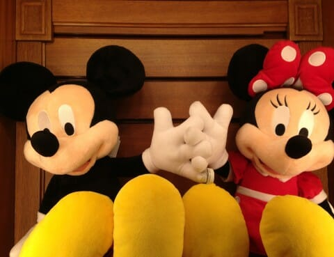 Mickey en Minnie Mouse