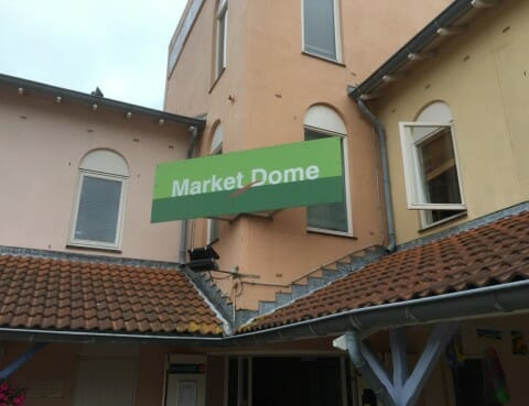 Market Dome van CenterParcs in Ouddorp
